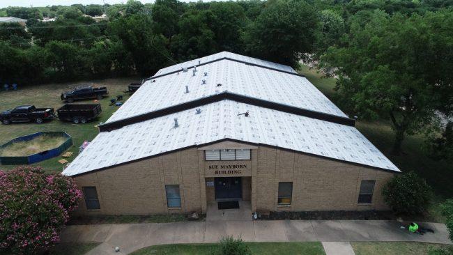 School Building Roofing Contractor