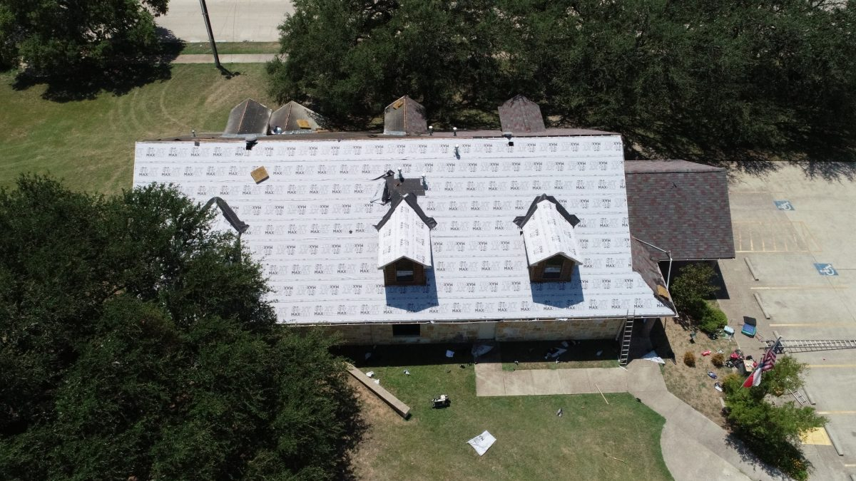 2020 Marlin Texas Library Roof Replacement
