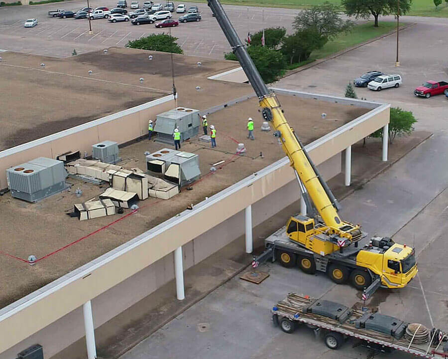 Commercial Roof Contractor Waco TX